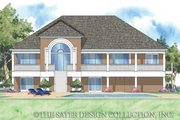 Craftsman Style House Plan - 3 Beds 3 Baths 2433 Sq/Ft Plan #930-154 Exterior - Front Elevation