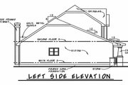 Craftsman Style House Plan - 3 Beds 2.5 Baths 1699 Sq/Ft Plan #20-2236 Exterior - Other Elevation