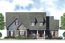 House Plan Design - Craftsman Exterior - Front Elevation Plan #17-2413