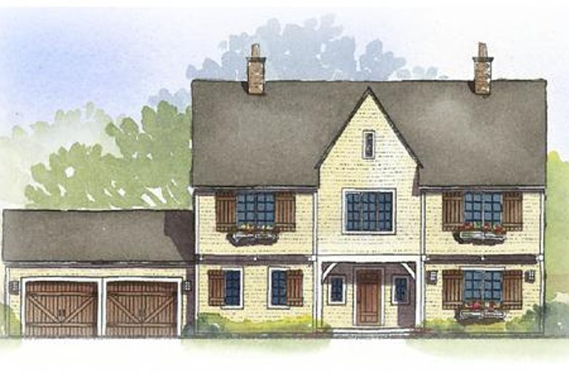 Traditional Style House Plan - 4 Beds 2.5 Baths 2810 Sq/Ft Plan #901-89