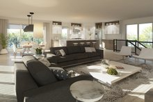 Dream House Plan - Contemporary Interior - Family Room Plan #23-2648