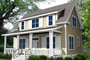 Farmhouse Style House Plan - 3 Beds 2.5 Baths 1760 Sq/Ft Plan #461-23 Exterior - Other Elevation