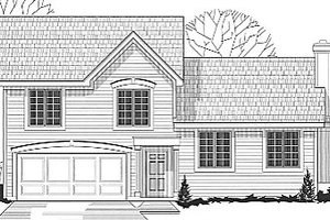 Traditional Exterior - Front Elevation Plan #67-635