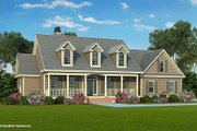 Country Style House Plan - 4 Beds 3 Baths 2195 Sq/Ft Plan #929-20 Exterior - Front Elevation