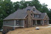 Craftsman Style House Plan - 4 Beds 4 Baths 3290 Sq/Ft Plan #437-64 Exterior - Front Elevation