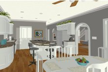 Dream House Plan - Craftsman Interior - Kitchen Plan #56-719