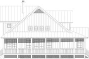 Country Style House Plan - 3 Beds 3.5 Baths 2300 Sq/Ft Plan #932-59 Exterior - Other Elevation