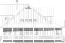 Architectural House Design - Country Exterior - Other Elevation Plan #932-59