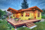 modern cottage plan 800 sq ft 2br by nir pearlson