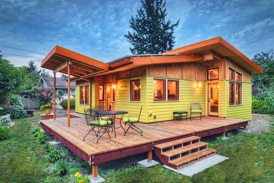 modern cottage plan 800 sq ft 2br by nir pearlson