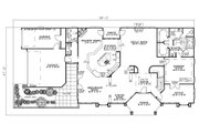 Ranch Style House Plan - 3 Beds 2.5 Baths 3374 Sq/Ft Plan #17-2273 Floor Plan - Main Floor