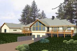 Traditional Exterior - Front Elevation Plan #117-243