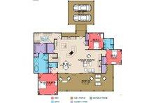 Craftsman Floor Plan - Main Floor Plan Plan #63-372