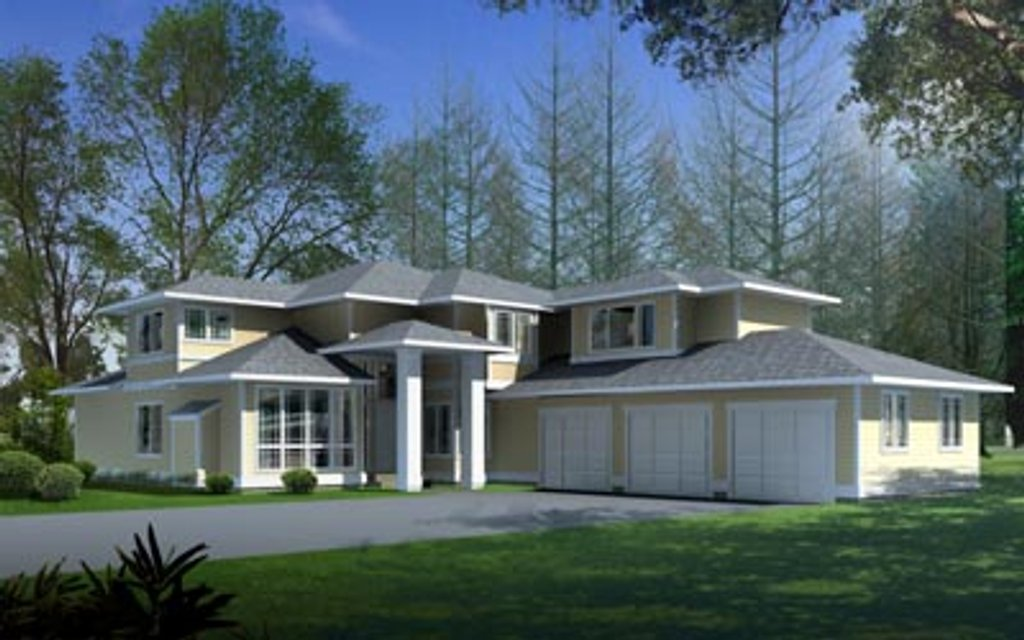 Mediterranean Style House Plan 4 Beds 3 Baths 3408 Sq Ft