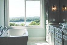 Southern Interior - Master Bathroom Plan #437-57