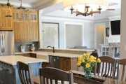 Craftsman Style House Plan - 4 Beds 3 Baths 2239 Sq/Ft Plan #929-1025 Interior - Dining Room