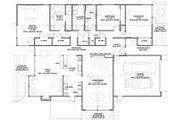 Modern Style House Plan - 3 Beds 2 Baths 2587 Sq/Ft Plan #438-1 Floor Plan - Main Floor Plan