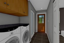 Cottage Interior - Laundry Plan #126-178