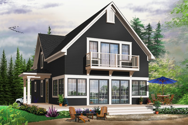 Dream House Plan - Traditional Exterior - Front Elevation Plan #23-825