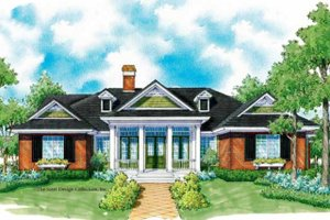 Country Exterior - Front Elevation Plan #930-246