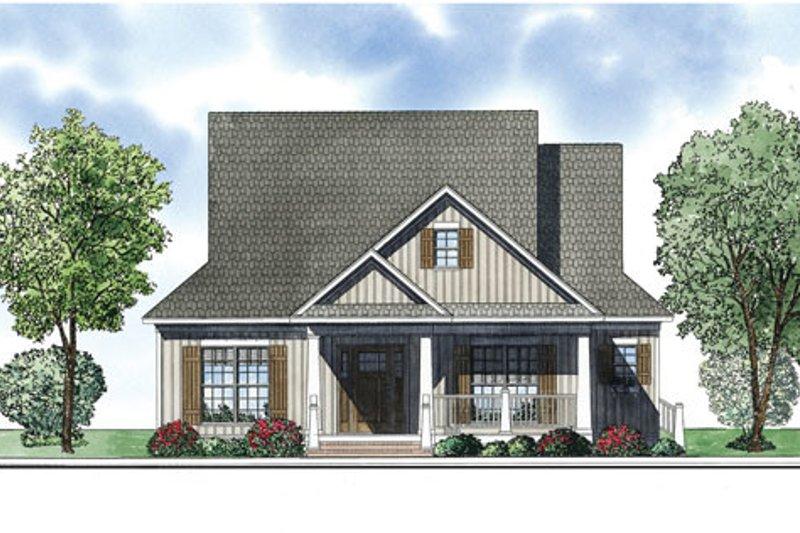 Bungalow Exterior - Front Elevation Plan #17-2410 - Houseplans.com