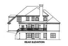 Home Plan - European Exterior - Rear Elevation Plan #429-31