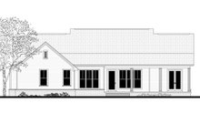Farmhouse Exterior - Rear Elevation Plan #430-163