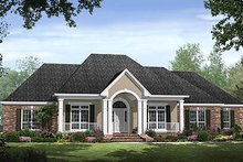 Home Plan - Traditional Exterior - Front Elevation Plan #21-300