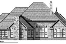Dream House Plan - European Exterior - Rear Elevation Plan #70-890