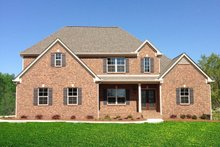Home Plan - Traditional Exterior - Front Elevation Plan #437-84