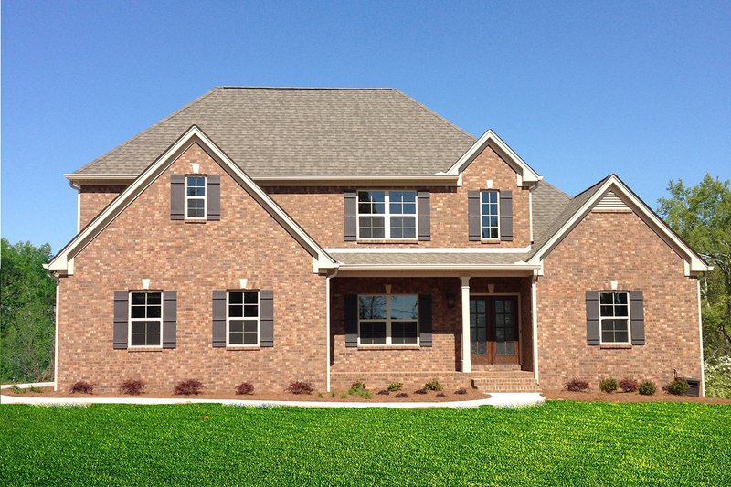 House Plan Design - Traditional Exterior - Front Elevation Plan #437-84