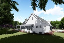 Architectural House Design - Farmhouse Exterior - Rear Elevation Plan #1069-4