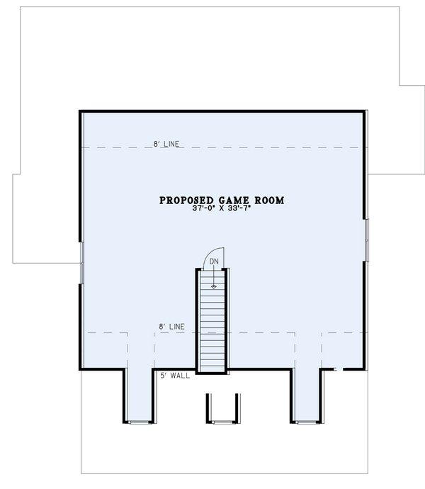 Dream House Plan - Southern Floor Plan - Upper Floor Plan #17-1026