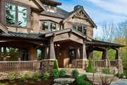 Craftsman Style House Plan - 7 Beds 8.5 Baths 8515 Sq/Ft Plan #132-218 Exterior - Outdoor Living