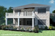 Country Style House Plan - 4 Beds 3 Baths 3757 Sq/Ft Plan #930-514 Exterior - Rear Elevation