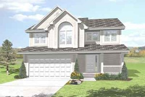 Traditional Exterior - Front Elevation Plan #50-281