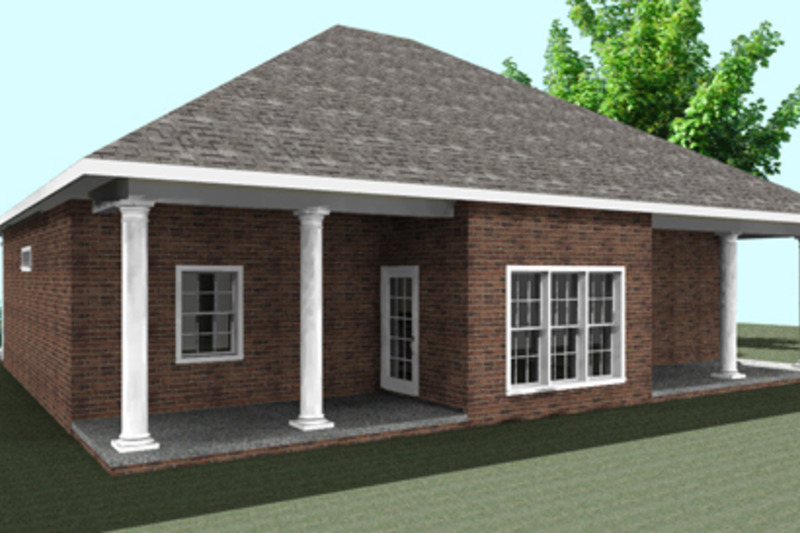 Southern Exterior - Other Elevation Plan #44-168 - Houseplans.com