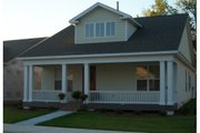 Craftsman Style House Plan - 2 Beds 2 Baths 1302 Sq/Ft Plan #63-272 Exterior - Other Elevation