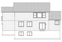 Traditional Exterior - Rear Elevation Plan #1060-37