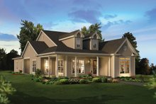 Architectural House Design - Ranch Exterior - Front Elevation Plan #57-659