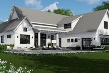 Farmhouse Exterior - Rear Elevation Plan #51-1132