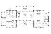 Beach Style House Plan - 4 Beds 4.5 Baths 3000 Sq/Ft Plan #443-19 Floor Plan - Main Floor