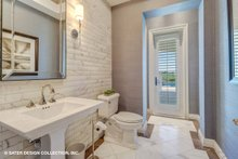 House Plan Design - Mediterranean Interior - Bathroom Plan #930-511