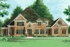 House Plan Design - Traditional Exterior - Front Elevation Plan #1054-31