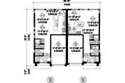 Contemporary Style House Plan - 5 Beds 2 Baths 3385 Sq/Ft Plan #25-4396 Floor Plan - Main Floor