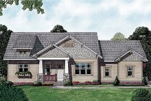 Dream House Plan - Craftsman Exterior - Front Elevation Plan #453-12