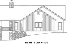 Dream House Plan - Craftsman Exterior - Rear Elevation Plan #17-2399