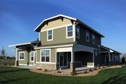 Craftsman Style House Plan - 4 Beds 3.5 Baths 2901 Sq/Ft Plan #1069-11 Exterior - Rear Elevation