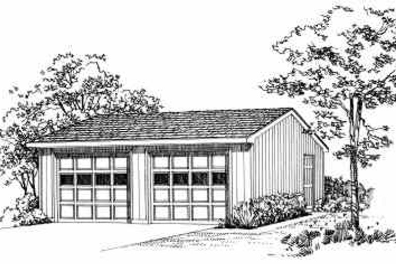 House Blueprint - Traditional Exterior - Front Elevation Plan #72-245