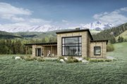 Modern Style House Plan - 3 Beds 2.5 Baths 2116 Sq/Ft Plan #924-4 Exterior - Other Elevation